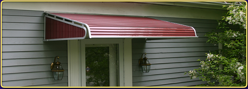 Aluminum Fixed Awnings & Bel-Aire Fixed Aluminum Awnings |